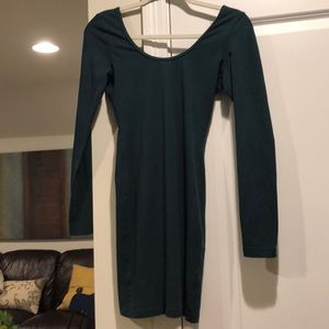 American Apparel green dress